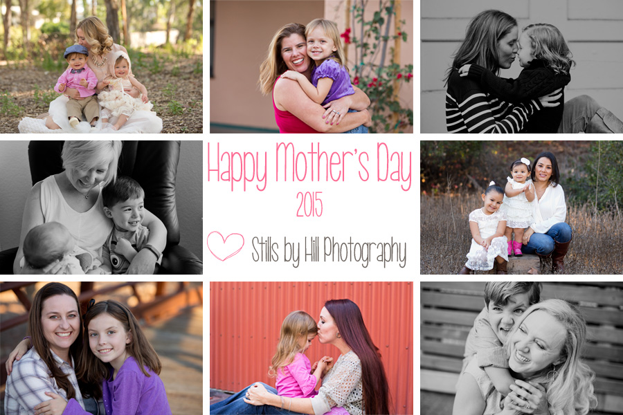 mothers day portraits san diego