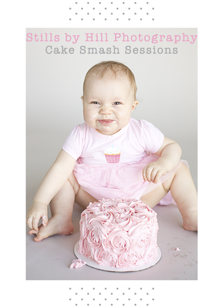 san diego cake smash photography
