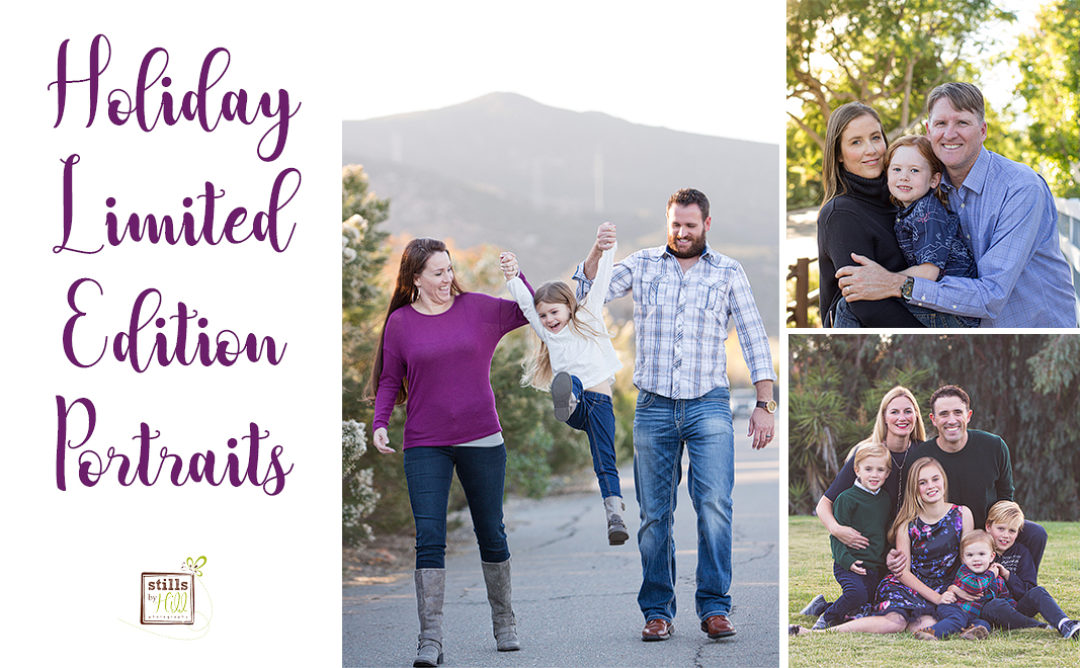 Limited Edition 2018 Holiday Sessions