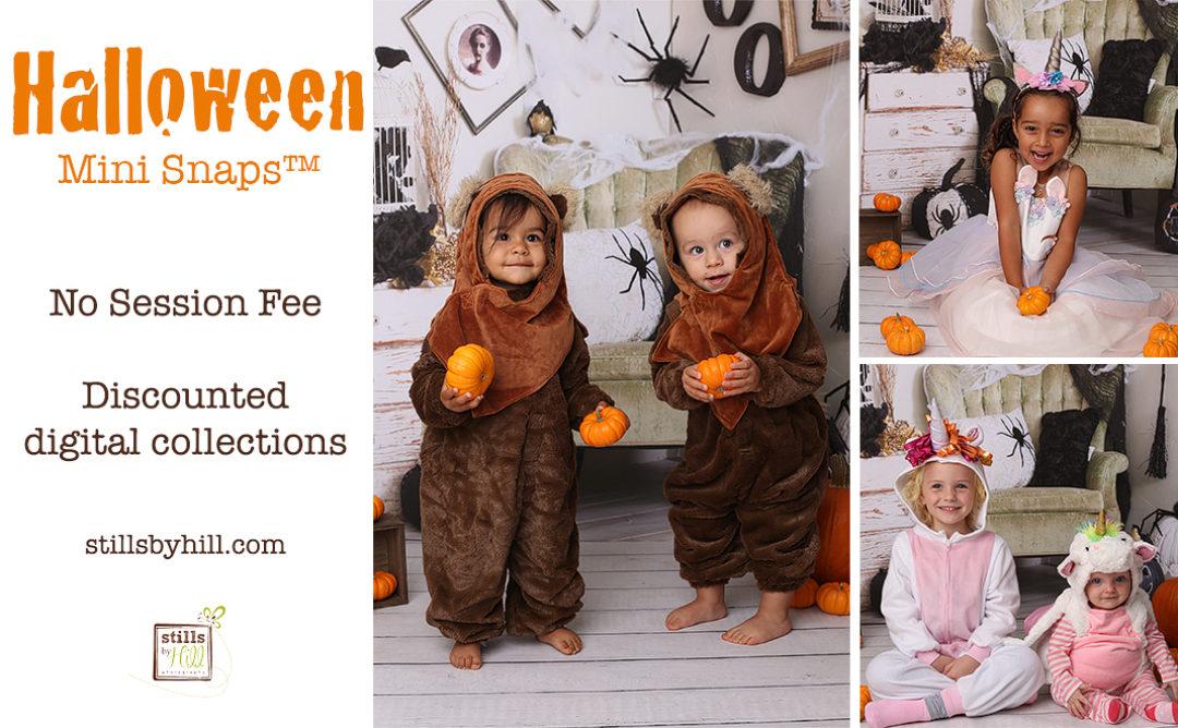 Halloween Mini Snaps – San Diego Child Photographer