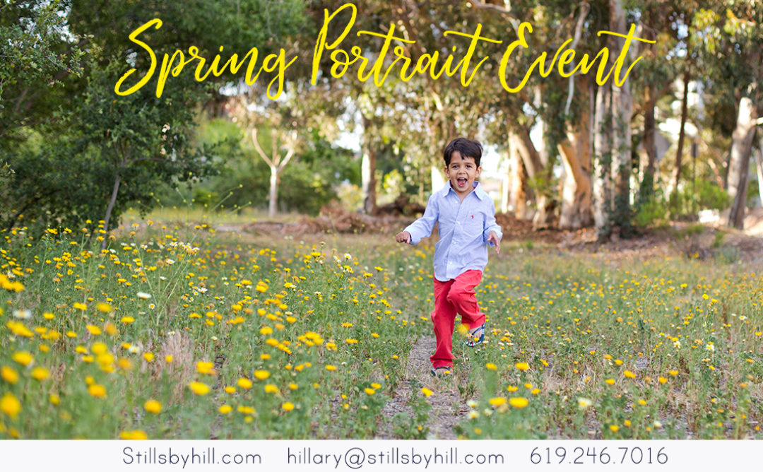 Spring Portrait Event
